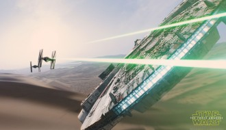 Star Wars: The Force Awakens – The Millennium Falcon