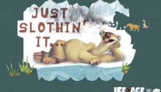 Sid: Just Slothin' it…  – Ice Age