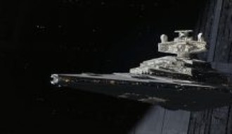 Star Destroyer in Rogue One