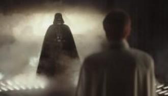 James Earl Jones and Ben Mendelsohn in Rogue One